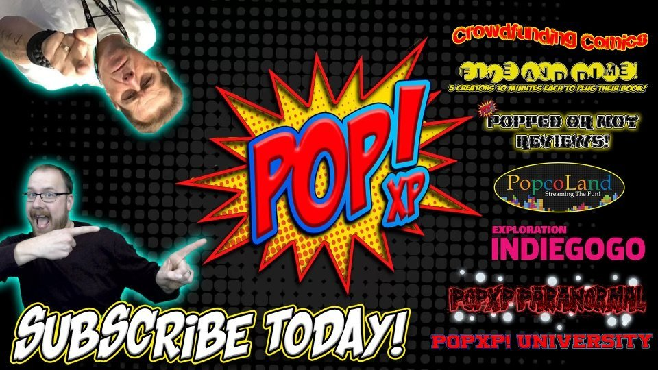 Subscribe to BIlly Tucci POP , Comic Books